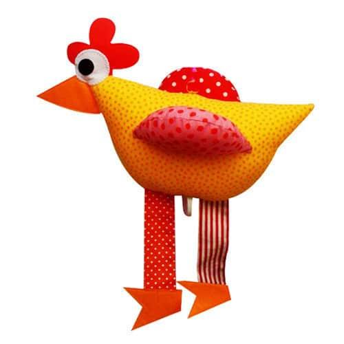 PomPapillon Spieluhr Huhn