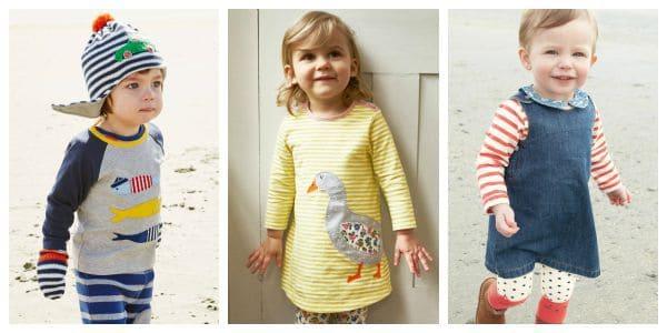 Kinderkleidung bei Boden