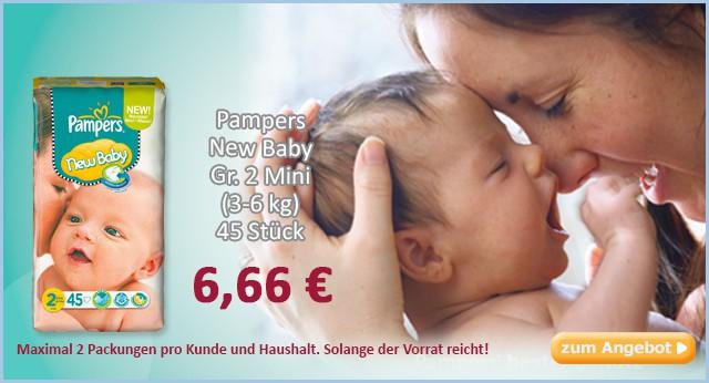 Pampers New Baby günstig
