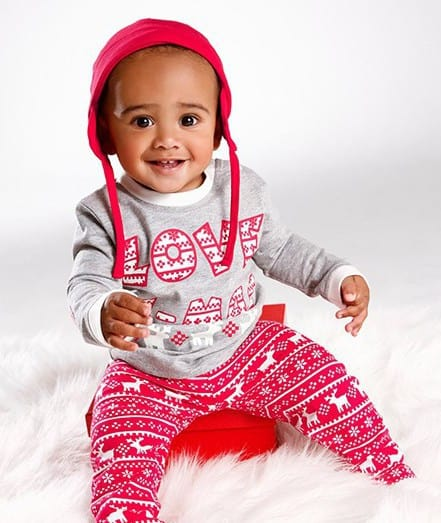 baby weihnachts outfit