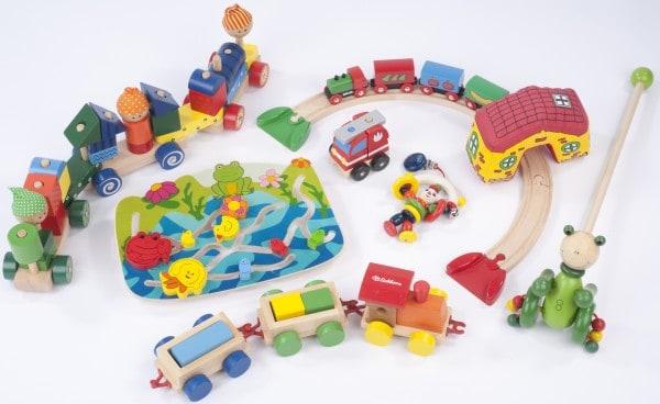 Holzspielzeug im Test der Stiftung Warentest 2013 (© Bild: Stiftung Warentest)