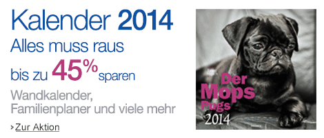 Kalender im Sale bei Amazon