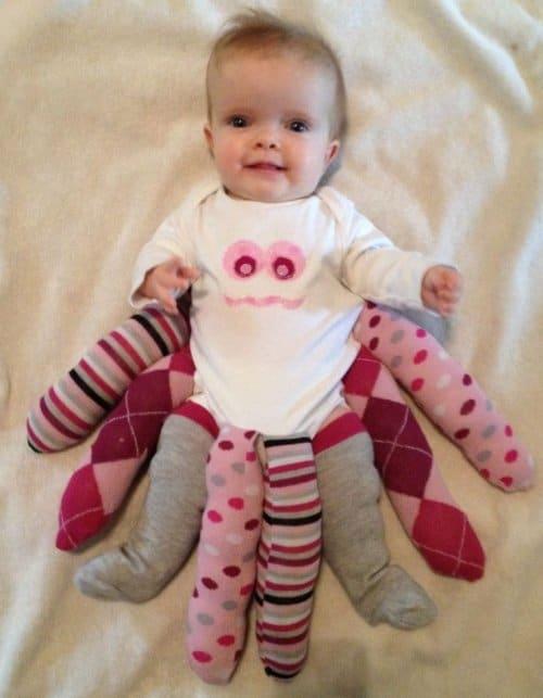 Baby-Sockenkrake