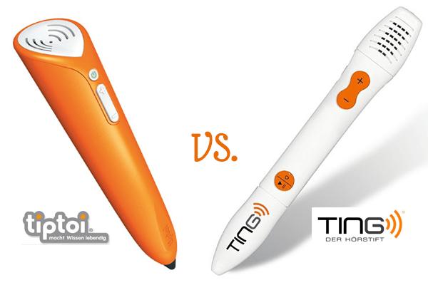 Tiptoi oder Ting Stift