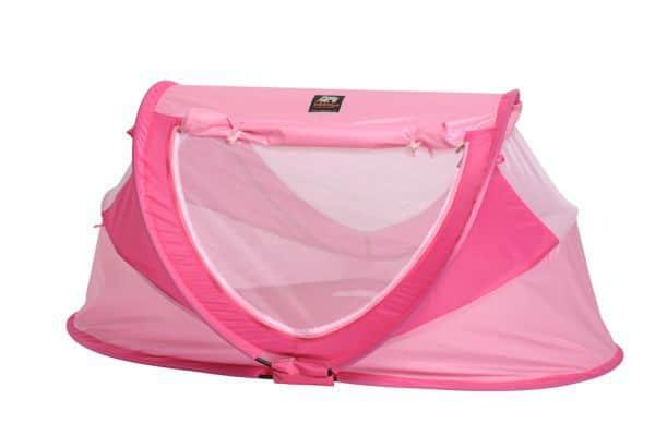 Deryan Travel Cot Peuter Deluxe Pink