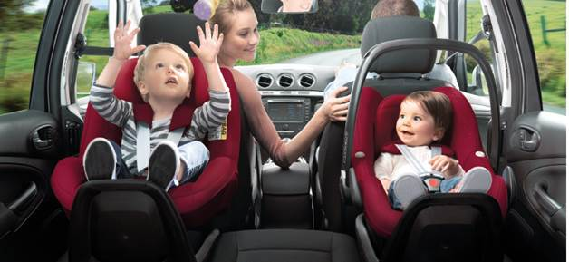 Maxi-Cosi Pearl 2way / fix - gut im neuen Kindersitz Test 2014
