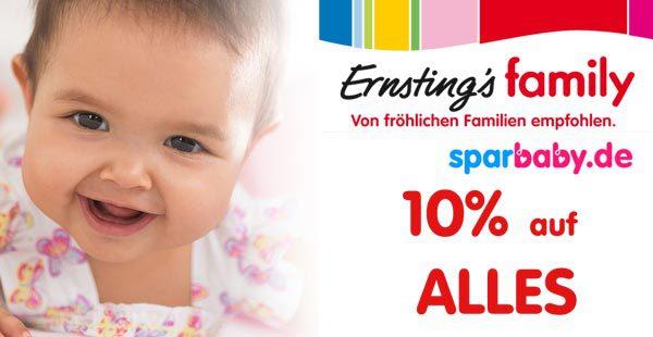 Ernsting's Family Gutschein exklusiv 10% Rabatt sichern