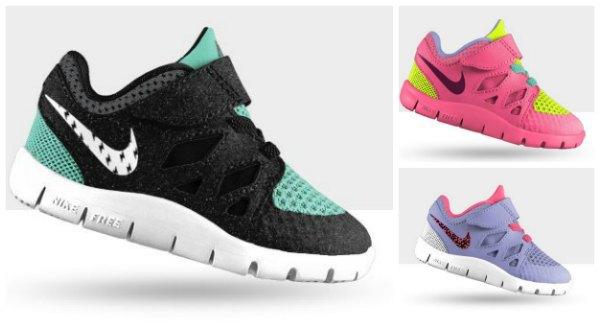 personalisierte Nike Kleinkindschuhe