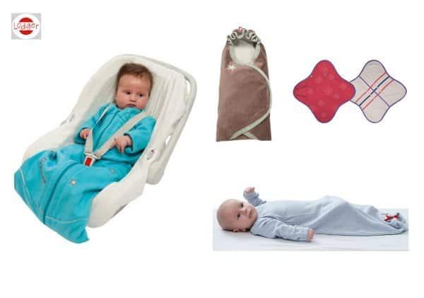 Schlafsäcke und Puckdecken von Lodger