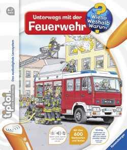 """Wieso?Weshalb?Warum? """"Unterwegs mit der Feuerwehr""""-Buch für TipToi"""