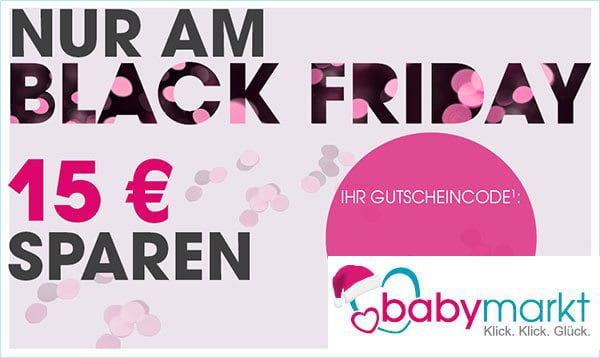 Black Friday bei Baby-Markt