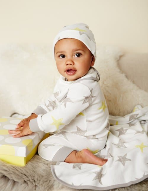 boden Baby-Outfit Sterne