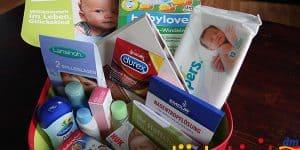 Willkommenspakete und Gratisproben für dein Baby