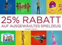 25% Rabatt auf Spielzeug Disney Store