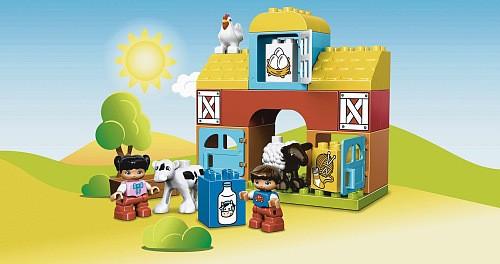 Lego duplo erster Bauernhof