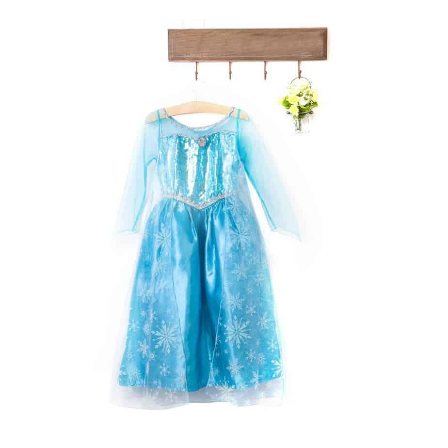 Eisprinzessin - zauberhaftes Elsa Kostüm