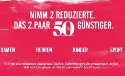 Deichmann 50% Rabatt