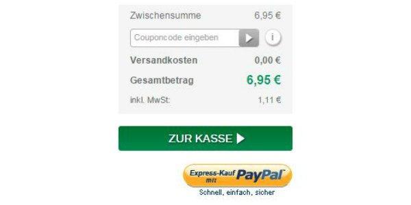 Deichmann online-Kasse
