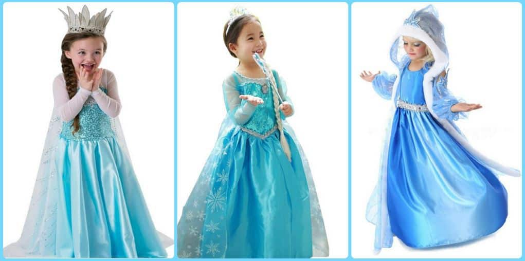 Elsa Eiskönigin Kostüm