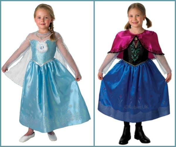 Anna & Elsa Kostüm aus