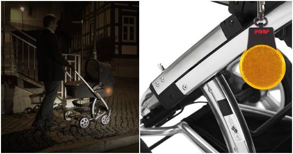 Reer - Reflektor für den Kinderwagen
