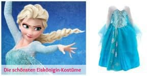 Elsa – Die Eiskönigin Kostüm – Die schönsten Kinderkostüme für kleine Eisprinzessinnen