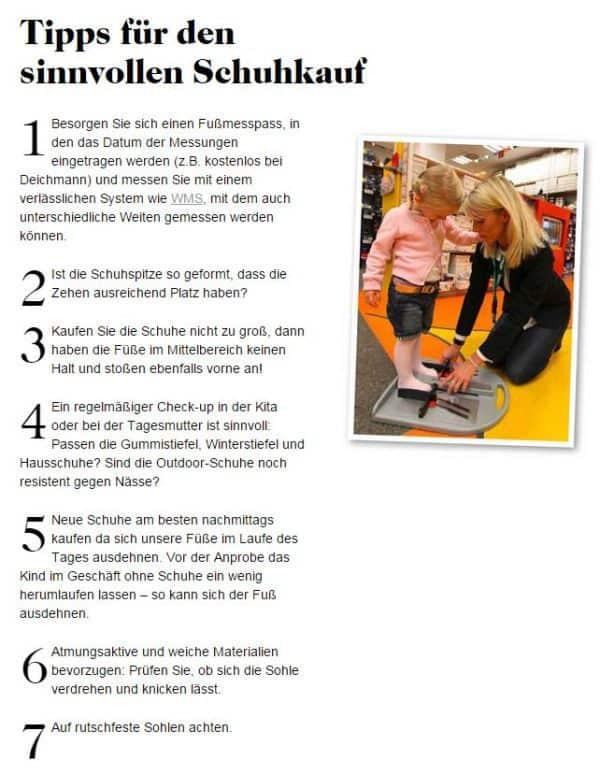 Schuhkauf-Tipps von Deichmann