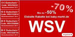 Baby-Markt WSV Aktionen