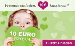 10€ Begrüßungsgutschein