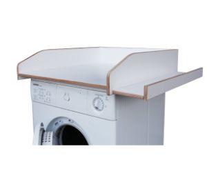 Wickelauflage Waschmaschine Birkenholz