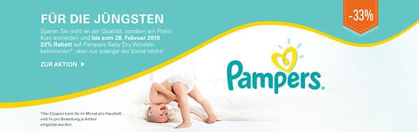 pampers allyouneed Angebot
