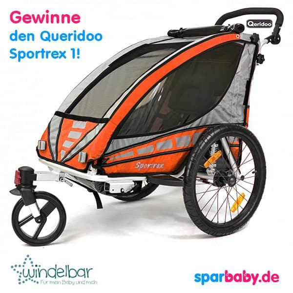 Gewinne eine Qeridoo Sportrex 1 Kinderwagen von Windelbar