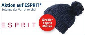 Esprit Mütze Gratis-Aktion
