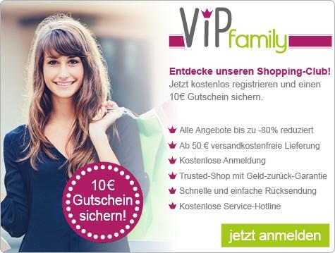 VIPfamily: Alle aktuellen Gutscheine und Aktionen