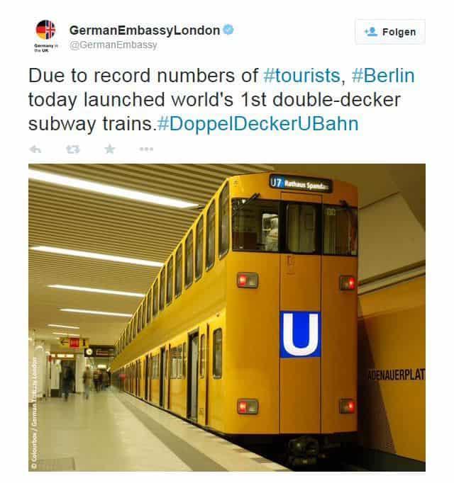 Doppelstock-U-Bahn