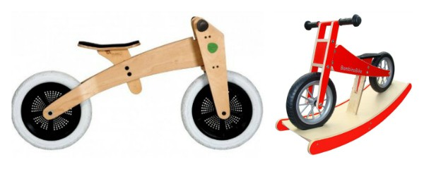 Holzlaufrad - Bambino Bike & WIshbone