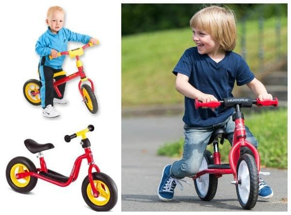 Beliebte Laufräder von Kettler, Puky und Hudora