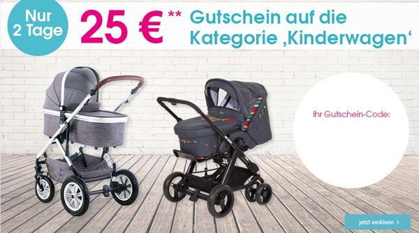 Kinderwagen-Gutschein Baby-Markt
