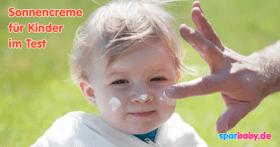 Sonnencreme für Kinder im Test 2016 (© Thinkstock)