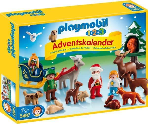 Playmobil Adventskalender 1.2.3 Waldweihnacht