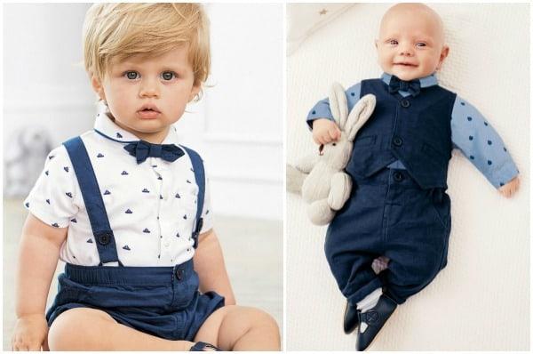 Taufkleidung von Next für kleine Jungs