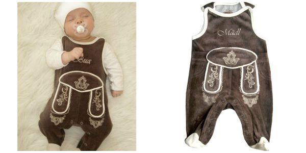 Babys erste Lederhosen für das Oktoberfest