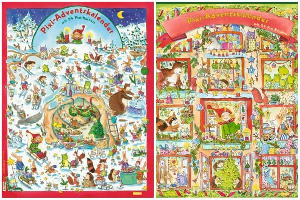 Pixi Adventskalender 2014 & 2015