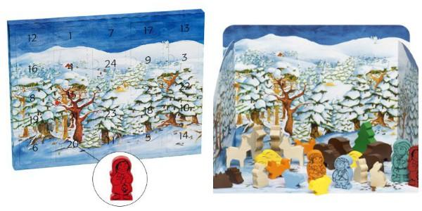 Selecta Adventskalender Winterwald