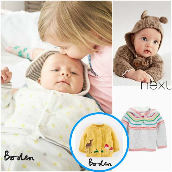 boden & next strickjacken