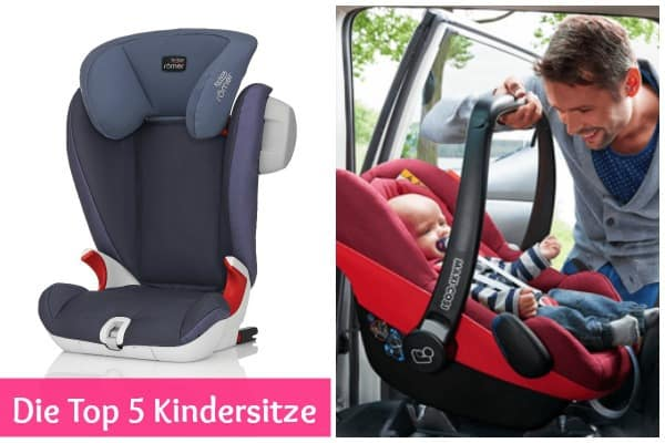 Top 5 Kindersitze
