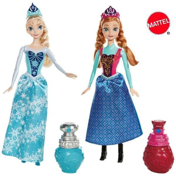 Anna & Elsa im Farbwechselzauber