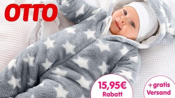 Otto Gutschein 15 Euro Rabatt und gratis Versand 5,95€ = 20,95 sparen für Erstbesteller