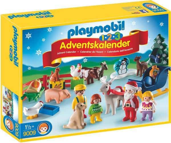 Playmobil Adventskalender 1.2.3 Weihnacht auf dem Bauernhof