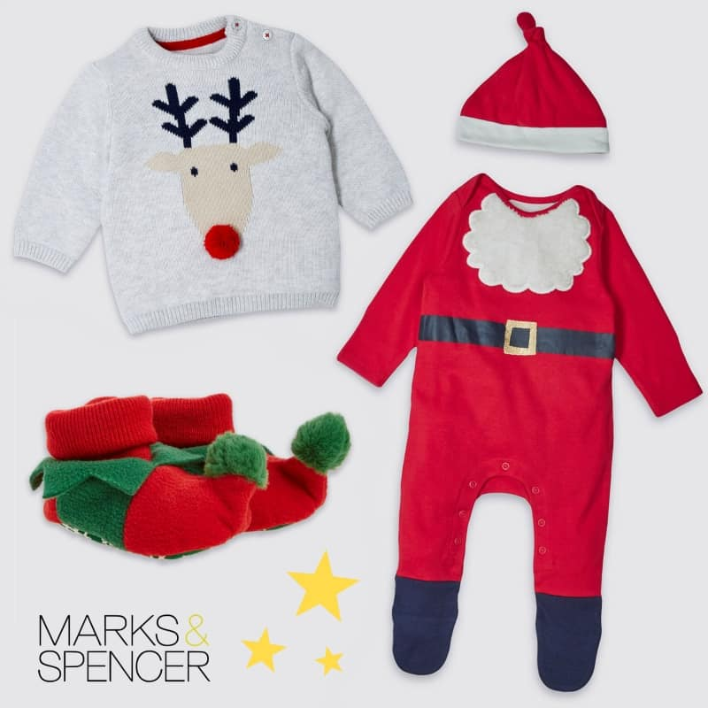 Marks & Spencer Weihnachtsoutfit